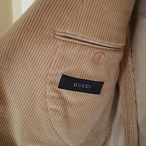 c7e91f2ffa3 Gucci Suits   Blazers - Men s Gucci corduroy sports jacket